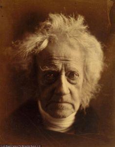 Portrait by Julia Margaret Cameron. Sir John Herschel (1792-1871)