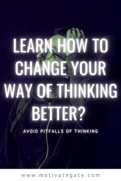 The laws of thought evolved to ensure human survival in a prehistoric environment. In today's world, however, these laws mislead us in many situations. It is good to learn to recognize the pitfalls of thinking and take them into account in important decisions in life. How to change your way of thinking better? Is it possible? YES IT IS!