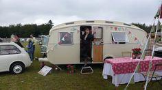 Vintage UK Caravan