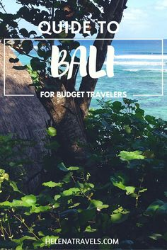 guide bali budget travelers