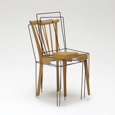 The 3/4 Place Keeper Chair by Julian Sterz. Inspiring. Is there a way to use this concept to enrich your creative life?