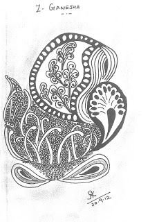 Further from the Z-Ganesha Calling page. The clarion call is working, and here are the next three contributions: aasZentangle Gane. Clarion Call, Ganesha, Art Forms, Tangled, Tinkerbell, Zentangle, Rapunzel, Zentangle Patterns, Zentangles