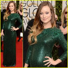 The most glamour pregnant woman