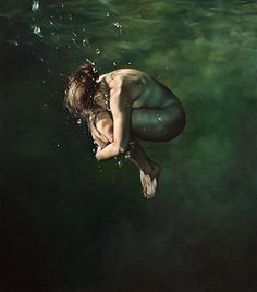 eric zener's underwater paintings (not photos)