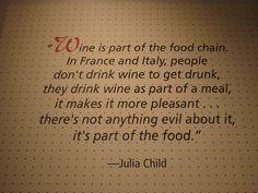 Amen, Julia Child!