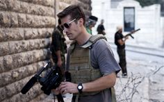Journalist James Foley in Aleppo, Syria, in September 2012. I pin this in.memory of him. He was truly a brave man.