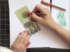 Lavinia Stamps - Glow Flowers . - YouTube Lavinia Stamps, Tricks, Handmade Cards, Glow, Tutorials, Fantasy, Videos, Youtube, Flowers
