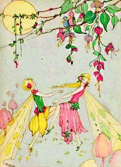 #vintage #fairy #illustration