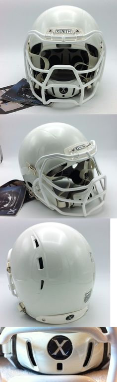 Helmets and Hats 21222: Xenith X1 Adult Football Helmet--W Prowl Facemask And Chin Strap-- Medium--White -> BUY IT NOW ONLY: $139.95 on eBay!