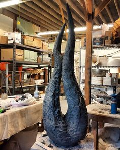 Yes, she's definitely becoming a sexy bitch. ;) 52 inches wet . . #clayisasexybitch #art #artsy #artist #design #artstudio #losangeles #ceramic #ceramics #clay #interiordesign #gallery #fineart #figurative #artwork #sculpture #handmade #ceramicart #instaartist #instaart #interior #artgallery #contemporarysculpture #decor #interiorstyling #artdaily #laartscene #contemporaryart #pottery #contemporaryceramics