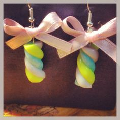 orecchini pendenti marshmallow <7>