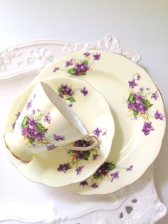 Vintage English Fine Bone China Royal Standard by MariasFarmhouse, $75.00