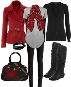 Fall fashion ~ layering for our Alaskan weather is key!