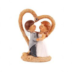 Cake Toppers Chic Dancing Bride & Groom  Cake Topper - USD $19.99