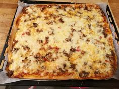 Besøk innlegget for mer. Low Carb Pizza, Falafel, Pizza Recipes, Macaroni And Cheese, Nom Nom, Food And Drink, Snacks, Baking, Dinner