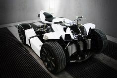 Lazareth Auto Moto Quadrazuma - Luxury Road Quad Bike