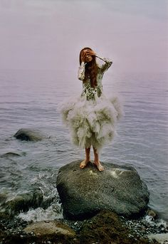 but a mermaid has no tears, and therefore she suffers so much more by the girl who tamed the tiger, via Flickr
