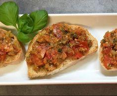 Rezept Variation von Bruschetta von Fabi911 - Rezept der Kategorie Vorspeisen/Salate