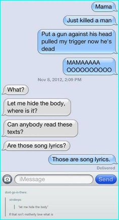 How does this mother not know what Bohemian Rapsody is?? Let alone QUEEN