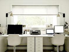 Image result for ikea double desk hack
