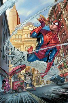 Порно комикс человек паук геймплей