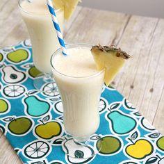 Pina Colada Smoothie  http://traceysculinaryadventures.blogspot.com/2012/01/pina-colada-smoothie.html