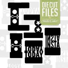 Fold-over Tabs Cut Files: Central High kit at Studio Calico