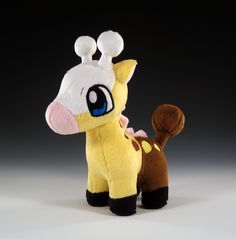 Girafarig Pokedoll by caffwin on DeviantArt