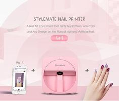 DIGITAL MOBILE NAIL ART PRINTER V3 Light Therapy Mask, Led Light Therapy, Nails First, Nails Only, Ios, Android, Nails Factory, Nail Art Printer, Hair