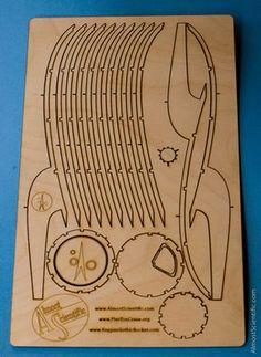 Corte Laser - Madera / MDF - Luma - Club de Diseño
