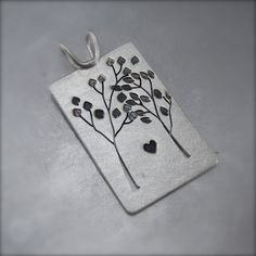 Tandem Tree Love Pendant from a fabulous Michigan Artist!