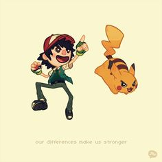 """our differences make us stronger""  by paperbeatsscissors.deviantart.com"
