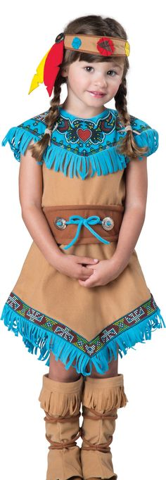 Little Indian Princess Kids Costume - Mr. Costumes