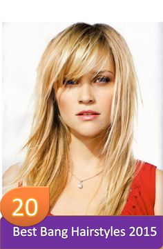 You will get here some very stylist and trendy bang hairstyles idea  to look sizzling, stunning and sexy for your next day party or for any special occasion