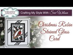 How To Make a Glitter Card | Crafting My Style with Sue Wilson - YouTube