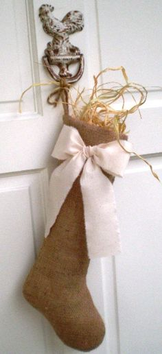 Stockings for Christmas window or in store- one for each employee w/ name on it