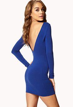 Open Back Bodycon Dress | FOREVER 21 - 2058979754