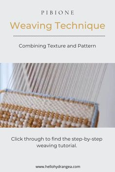 Weaving Projects, Weaving Art, Weaving Patterns, Macrame Patterns, Loom Weaving, Hand Weaving, Tapestry Loom, Textile Tapestry, Woven Wall Hanging