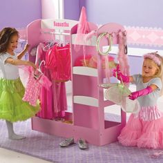 Dress Up Storage Center.... Would love this for Alessandra