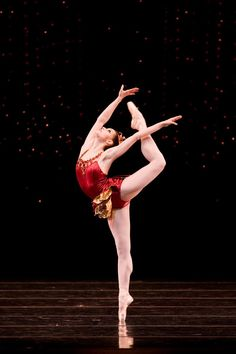 French ballerina Sofiane Sylve;  San Francisco Ballet's Jewels;  The Rubies Ballet;  Part of the Jewels Ballet.