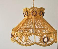 Lamp macrame di Cecy Vieira su Etsy