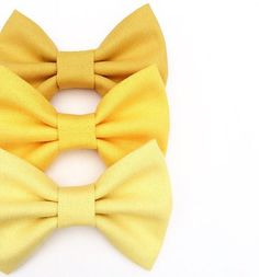 Yellow ombre bow pack