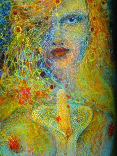 You have a inner femininity that nurtures you and guides you with her intuitive principles. Now is the time to become aware of, and celebrate your magnificence. -  Artist Leigh McCloskey - Adam Reborn and Eve Restored