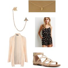 Untitled #14 by fabfive1999 on Polyvore featuring polyvore, fashion, style, Jane Norman, Forever 21, Steve Madden, Bee Goddess and Dogeared