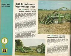 1969 OLIVER Hay & Forage Equipment Ad