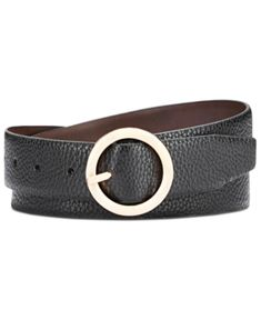 Steve Madden Reversible Belt With Circle Buckle - Black/Brown/Gold Handbag Accessories, Women Accessories, Steve Madden Style, Reversible Belt, Faux Leather Belts, Casual Loafers, Women's Socks & Hosiery, Mens Sale, Black And Brown