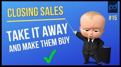 What is The Take Away Close and how can you use the takeaway close to increase your sales. In this video a sales expert explains how you can use scarcity or . Closing Sales, Public Speaking, Psychology, How To Become, Training, Education, Things To Sell, Psicologia, Teaching