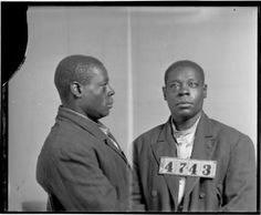 Photograph of William Bonner, No. 4743, Records of the Virginia Penitentiary, Series II. Prisoner Records, Subseries B. Photographs and Negatives, Box 54, Accession 41558, State Records Collection, Library of Virginia.
