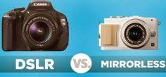 DSLR vs. Mirrorless Cameras