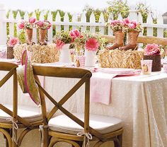 Love the boots Save The Tatas, Centerpieces, Table Decorations, Tablescapes, Table Settings, Party, Nice, Boots, Home Decor